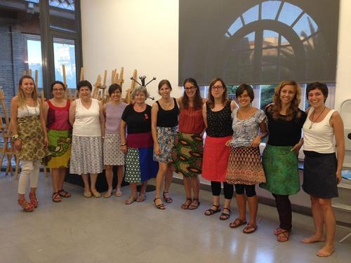 alumnes-taller-faldilla-costura-patronatge-barcelona
